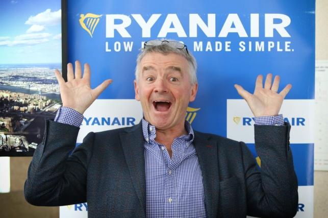 חברת תעופה ריינאייר Ryanair