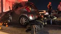 שני הרוגים בתאונה בין מכונית למשאית