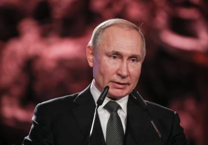 """פוטין בנאומו: """"השואה, טרגדיה שנזכור לעד"""""""