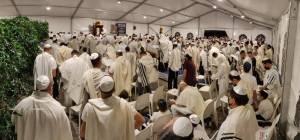 בחג: רבבות ישראלים ב-500 מניינים פתוחים