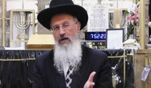 הרב אברהם יוסף בשיעור על כשרות המאכלים בפסח