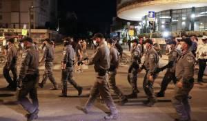 """י-ם: 12 מפגינים נעצרו; המכת""""זית לא פעלה"""