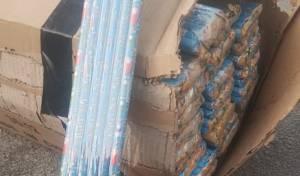 עשרות אלפי זיקוקים לא חוקיים נתפסו בי-ם
