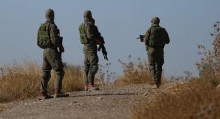 """תיעוד מהזירה: חיילי צה""""ל בסריקות בשטח"""