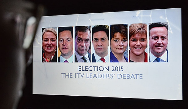 ראשי המפלגות המתמודדות בבחירות 2015 בבריטניה