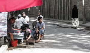 אויגורים, המוסלמים של סין. אילוסטרציה