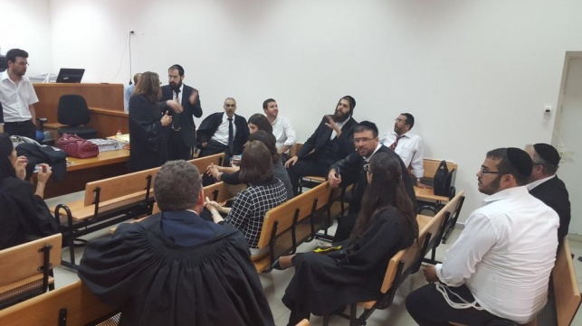 הצדדים בבית המשפט