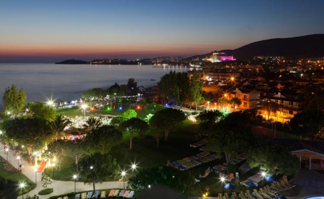האי היווני קוס שהיה אמור לארח את נופשי 'פרלה לקשרי'