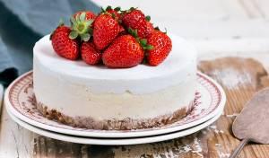 עוגת גבינה קלאסית אפויה של שירן דיקמן
