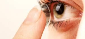 עדשות מגע אילוסטרציה - פטנט חדש: עדשות מגע שמתכהות בשמש
