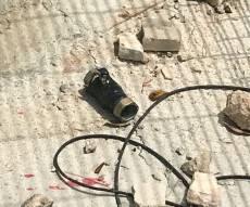 """מטען הצינור שהושלך על הכוחות - ליד בסיס מג""""ב: לוחמת נפצעה בינוני מאבן"""