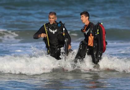 סוף עצוב: החיפושים אחר האברך בחוף הים