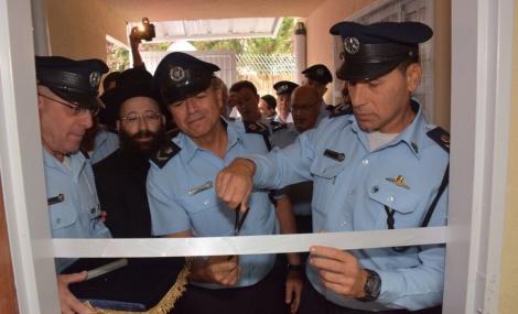 """תחנת משטרה נחנכה בציון הרשב""""י במירון"""