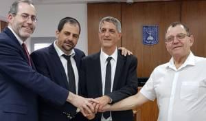 עורכי הדין, נטוביץ ויצמן ומושקוביץ עם המעומד אבי חימי