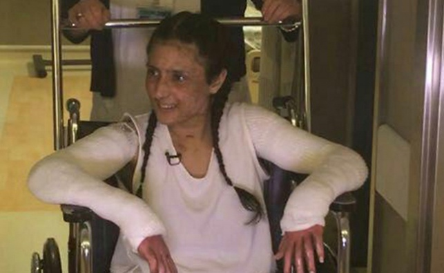 הנערה שנפצעה קשה בפיגוע התופת שוחררה
