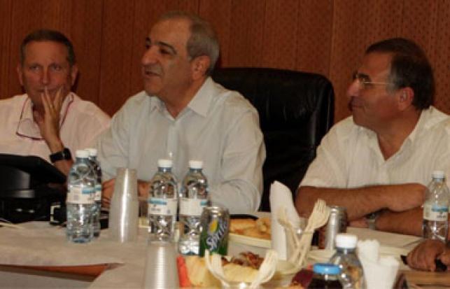 מסיבת העיתונאים שבה הוצגה הקמפיין