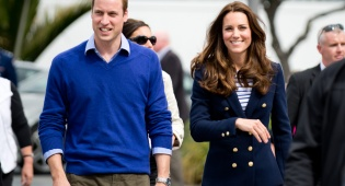 הניסך והדוכסית - לראשונה: ביקור רשמי של משפחת המלוכה