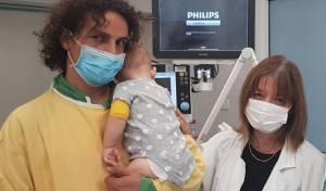 מיקה הקטנה בבית החולים