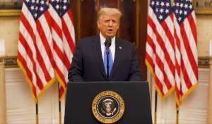 טראמפ ורעייתו התחסנו בחשאי בבית הלבן