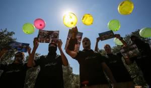 האיום של החמאס: עשרות בלוני דמה מעזה