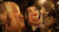 כ-15,000 הפגינו נגד נתניהו; שלושה נעצרו
