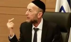 """צפו: ח""""כ אורי מקלב נלחם למען בתי הדין"""