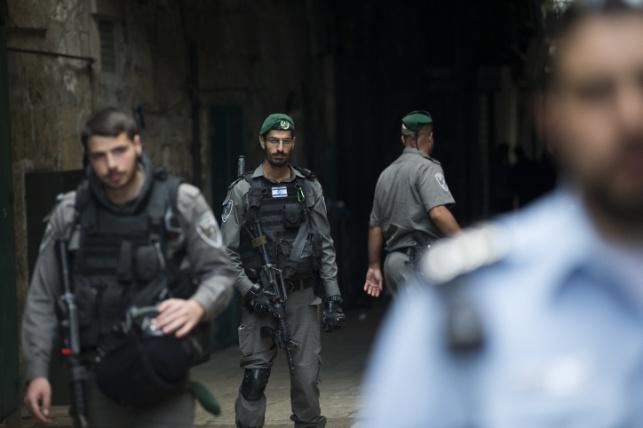 כוח משטרה בעיר העתיקה בירושלים