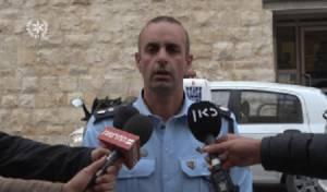 איש משטרה בזירת אירוע. אילוסטרציה