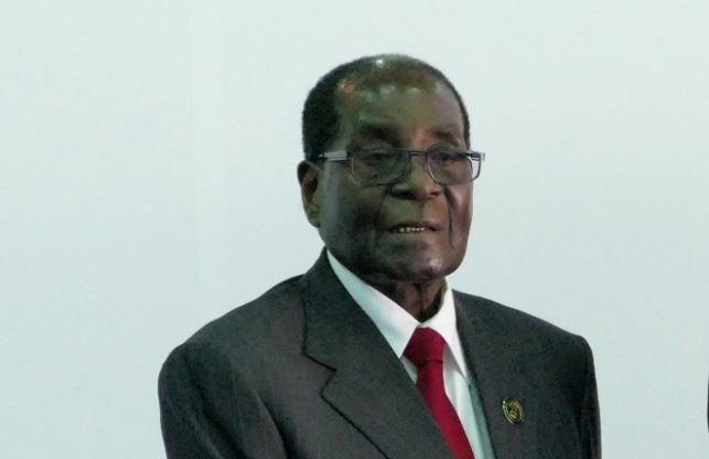 רוברט מוגבאה שליטה המודח של זימבבואה