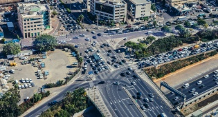 תל אביב: כולם מחפשים חניה - שליש מתנועת כלי הרכב - על חיפוש חניה
