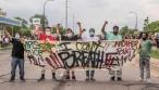 אדם נהרג בהפגנות על הרג העצור השחור