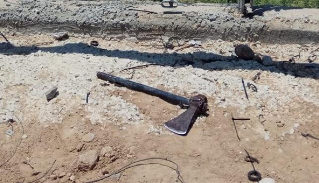 חדרו עם גרזן לגבול ישראל, מחבל אחד נהרג