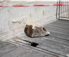 האבן שנפלה בכותל, בשבוע שעבר