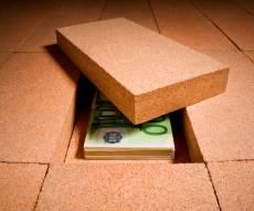 הכסף שהוחבא נעלם. אילוסטרציה - האישה ״העלימה״ 90,000 שקל שהוחבאו בדירה