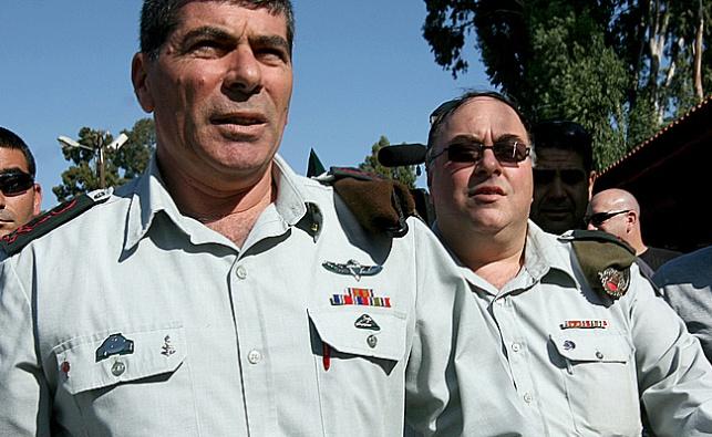 אבי בניהו וגבי אשכנזי ב-2008