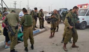 מחבלים ירו לעבר רכב ישראלי בשומרון