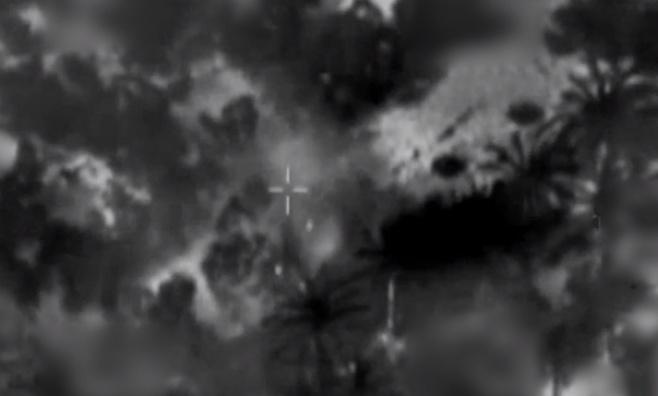 תיעוד: חוליית מחבלים חוסלה בעת השיגור