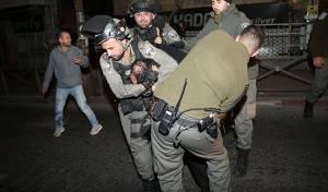 הלילה במאה שערים: מעצרים של המשטרה