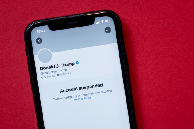 """טוויטר: """"לא נחזיר את חשבונו של טראמפ"""""""