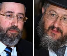 """הרב יהודה דרעי והרב דוד לאו - הגר""""י דרעי נגד הרב הראשי: 'הגיעו למסקנות בלי רבני עיר'"""
