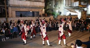 """רקדני """"האפ קוזאק"""" שמחו את הירושלמים; תיעוד"""