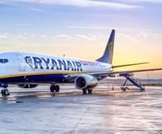מטוס ריינאייר. ארכיון - המחירים צונחים: טיסה לברלין ב-34 יורו