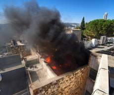 תיעוד דרמטי: כבאים מנעו פיצוץ בנין מגורים