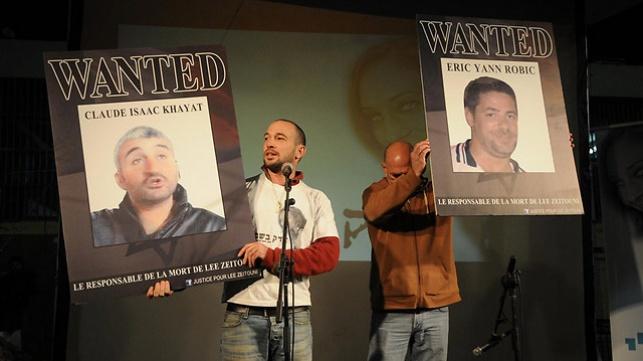 שני החשודים בדריסת לי זיתוני הודו