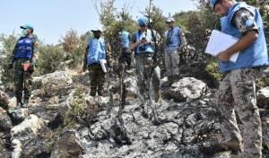 תיעוד ראשון: זירת התקרית בגבול עם לבנון