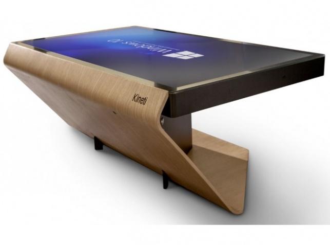 רוצים בגדול? שולחן טאבלט טאצ' ייחודי לסלון