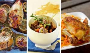 גולש בשר לשבת עם ירקות שורש ורוטב עשיר