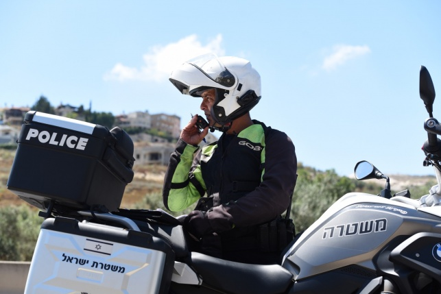 תרגיל משטרתי הבוקר ליד מודיעין עילית