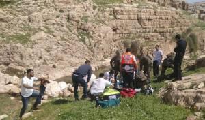 ילד בן 12 טבע בנחל פרת; מצבו קריטי
