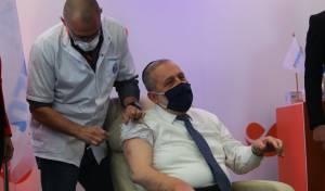 דרעי קיבל חיסון: 'מניח שלא תהיינה בחירות'